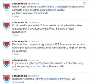 Twitter @cdnumancia