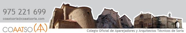 Página web COAAT Soria