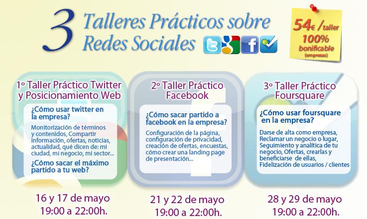 Talleres Prácticos Redes Sociales Soria (FOES)