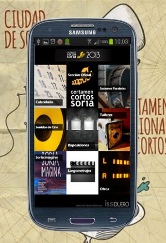 APP Android Certamen Internacional de Cortos Ciudad de Soria