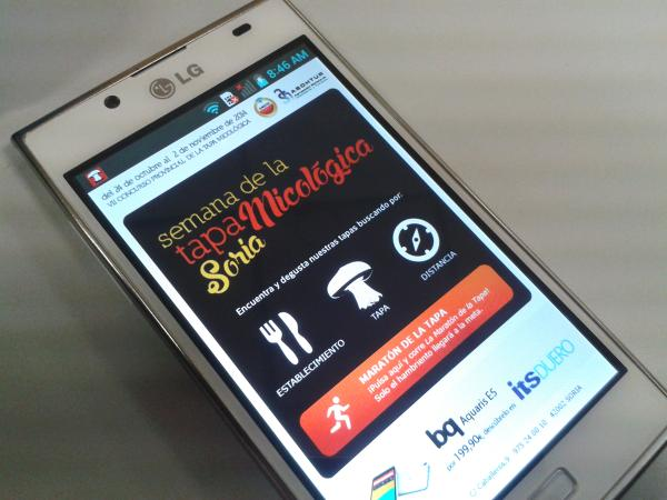 APP Android Tapa Micologica Soria