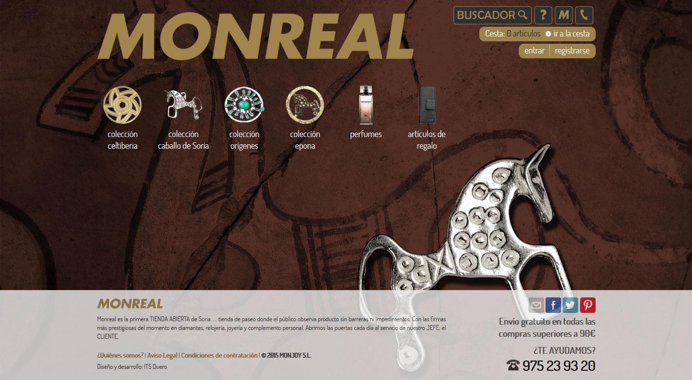 Tienda Online Joyería Monreal Soria