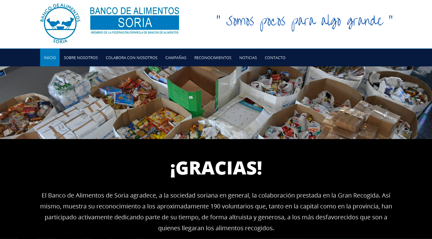 Banco de Alimentos de Soria